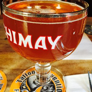 Chimay for brunch!  Unique to this place alone