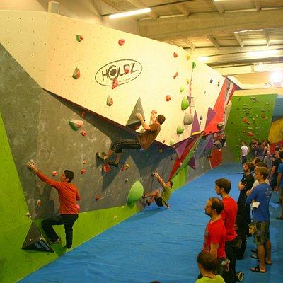 Competition wall