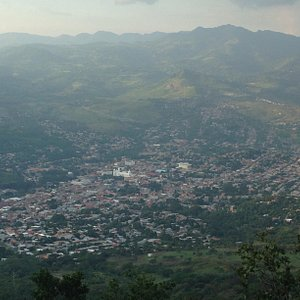 View from cerro apante