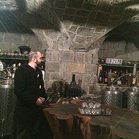 Tasting cellar cave