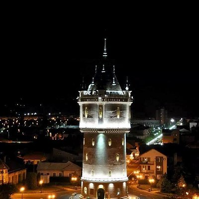 Drobeta Water castle night