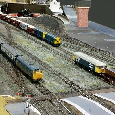 Limestone trains are part of Derbyshire as well as being modelled at Famous Trains!
