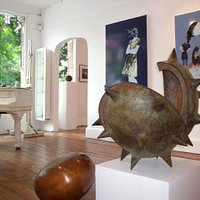 Modern Artists Gallery image featuring artist's Mark Hall and Angela Smith