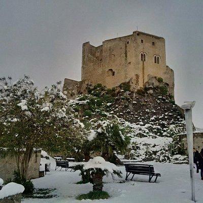Il castello innevato