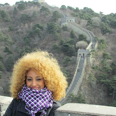 Mrs. Semhar Very beautiful shoot at the Mutianyu Great Wall