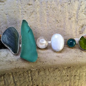 rings for sale at bead and fiber