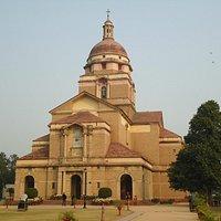 The beautiful church.