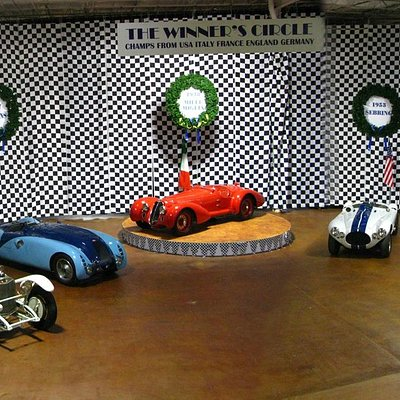 Exhibit: Winners Circle - Mercedes Benz, Bugatti, Alfa Romeo, Cunningham, Aston Martin