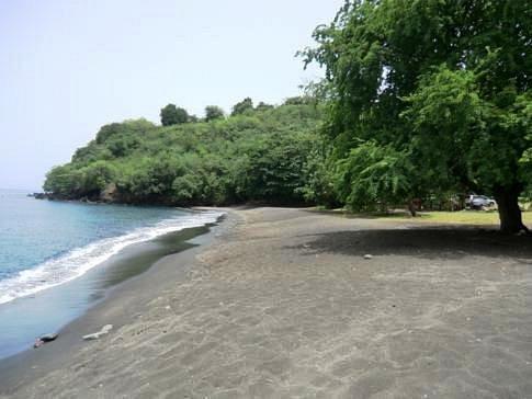 Lovely Black Sand Beach