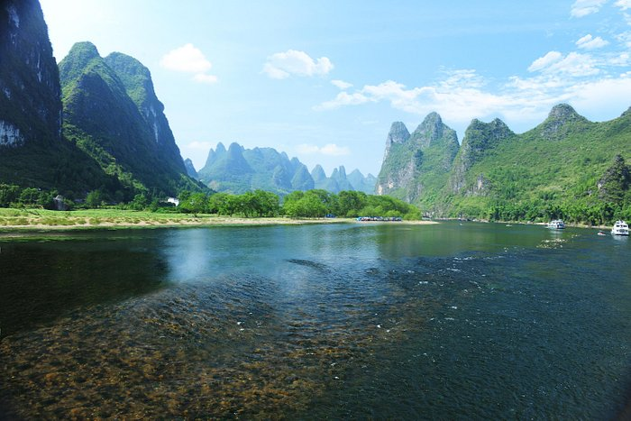 Guilin mountain and river