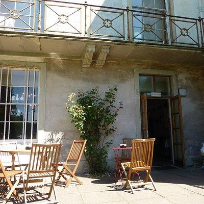 Rozelle House Tea Room. Find it inside the main house!