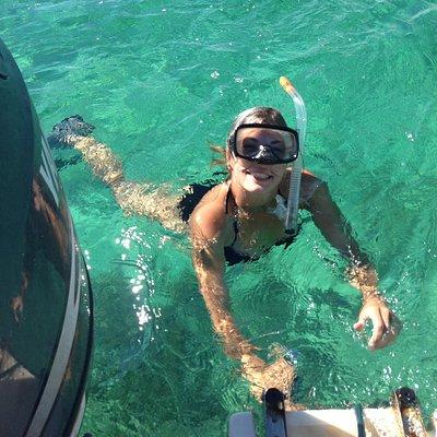 Snorkeling at Newfound Harbor Sanctuary