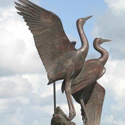 Whooping Crane Sculpture