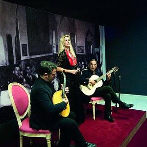 Teresa Viola, Virgílio Lança e Miguel Drago