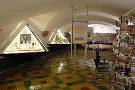 Inside the 17th century cellar