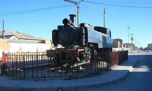 Una locomotiva sana