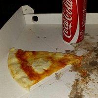 una pizza alla bufala buonissimaaaaa!!!