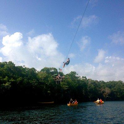 Zipline and Canoes