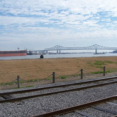 View of Mississippi River from the park
