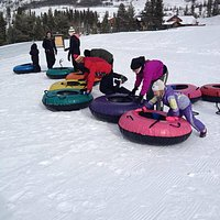 Small tubing hill - Nordic area Keysone