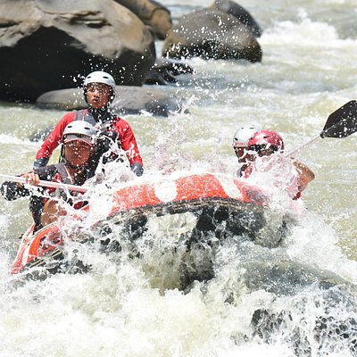 Rafting at Citarik River