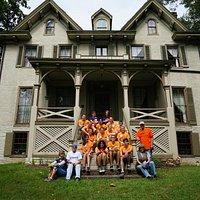Centre Furnace Mansion loves it's volunteers!