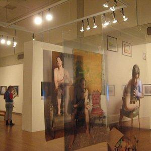 Sample of photography on display