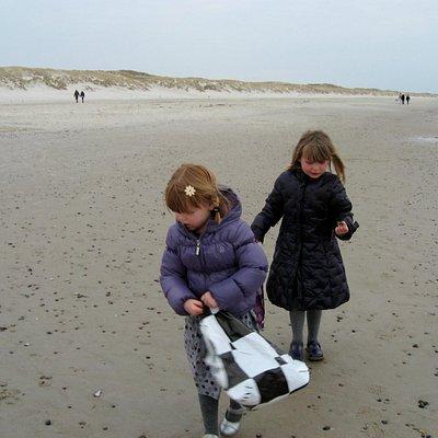 Henne Strand, en vinterdag