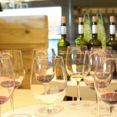 superb wine tasting
