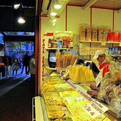il Box 15 della Pasta Fresca Morena sotto il Mercato