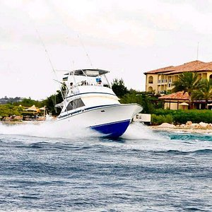 The Driftwood when fishing a tournament in Curacao.
