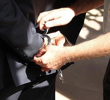 Verhaftung des Täters