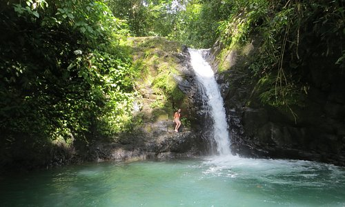 Upper waterfall and pool