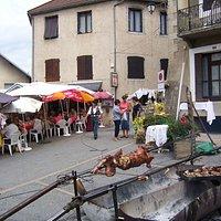 terrasse fête du village août 2014
