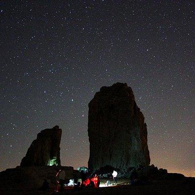 El Cielo desde el Roque Nublo