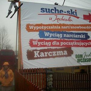 reklama ośrodka Jędrol.