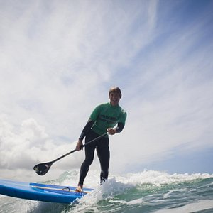 Rule the Waves on a paddleboard