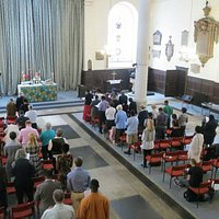 St Anne's during a service