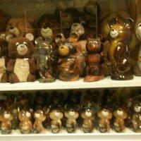 Коллекция медведей с Олимпиады-80