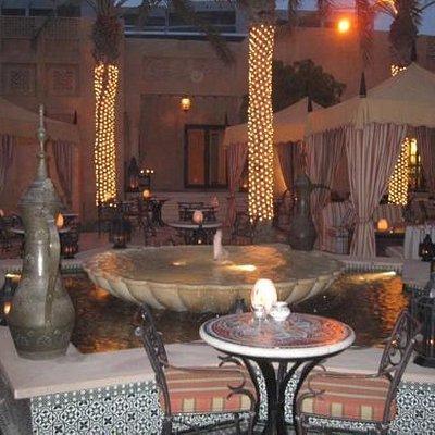 Sheesha Courtyard