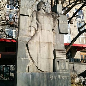 Hakob Meghapart Statue