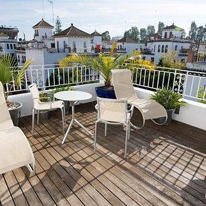 Solarium Terrace at the Hotel Holos