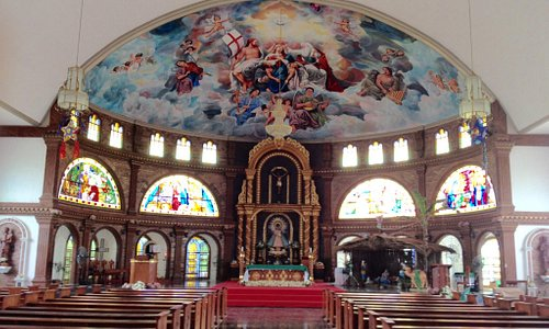 Interior of Our Lady of Pillar Church