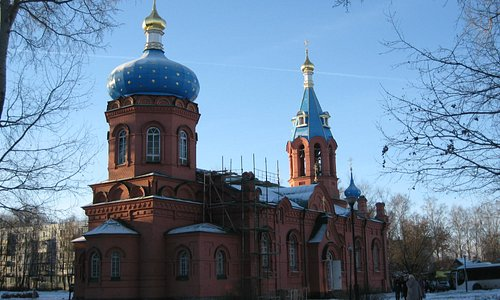 Храм Александра Невского зимой