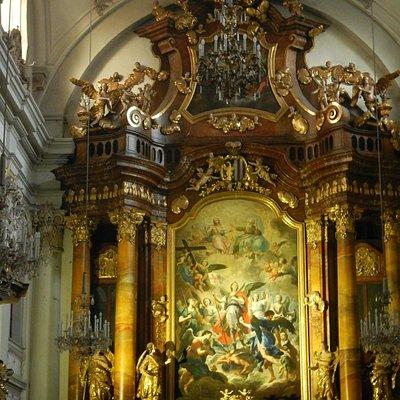 Altar em estilo barroco