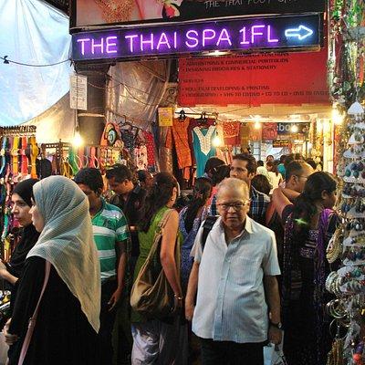 at Colaba Market