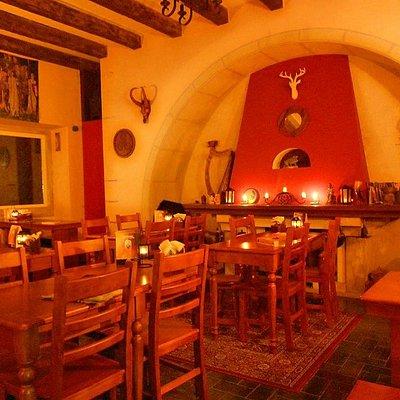 Interior do Pub Medieval