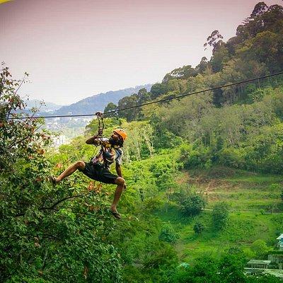 Flying Hanuman Zipline Phuket