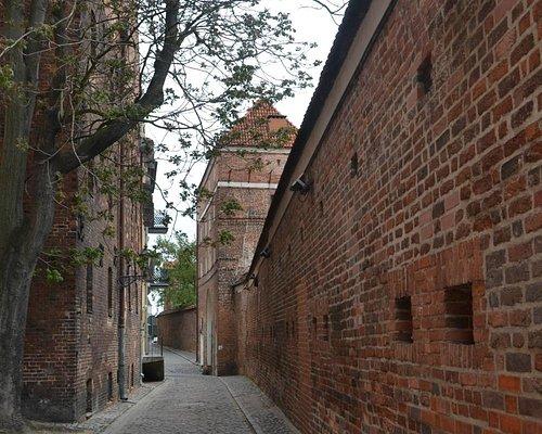 Torun defensive walls