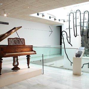 MANO GUIDONIANA. Representación del sistema utilizado por Guido para enseñar las notas musicales